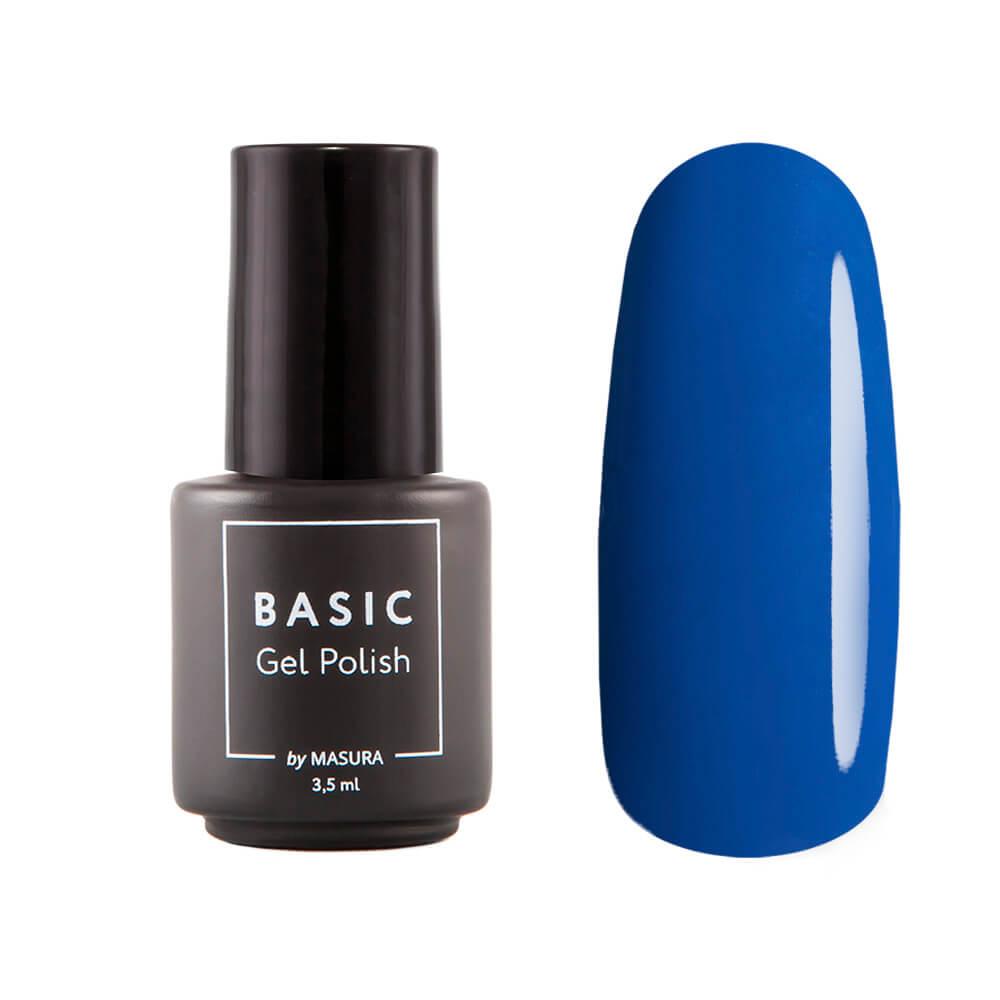Гель-лак Masura BASIC Синяя Туманность, 3,5 мл