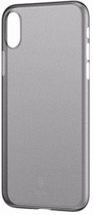 Чехол-накладка Baseus Wing Case (WIAPIPHX-01) для Apple iPhone X (Transparent Black)