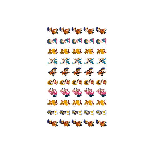 Сфера тц Нм2-12301 набор для поощрения на Самоклеящейся Бумаге Герои Мультфильма Вовка В т