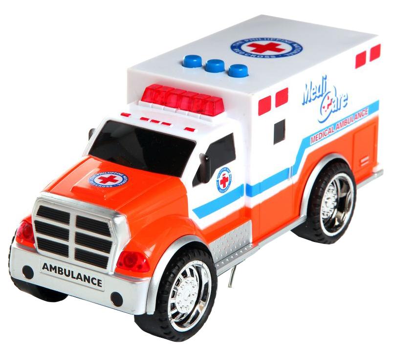 Купить Машинка Ledi Toys Реанимация со световыми и звуковыми эффектами, Спецслужбы