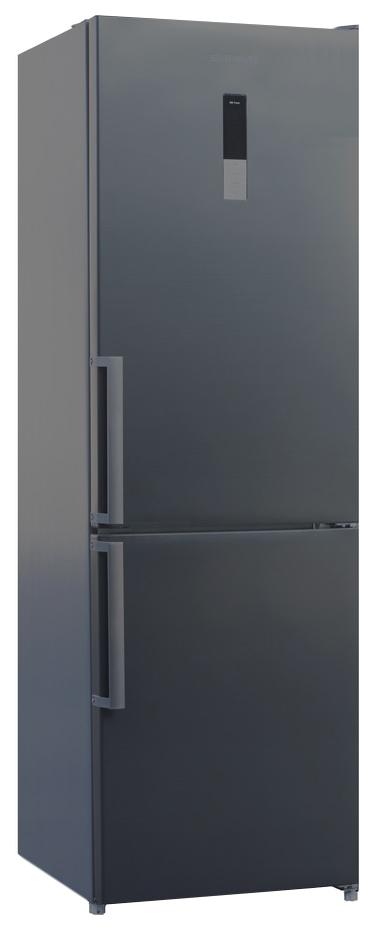 Холодильник SHIVAKI BMR-1851 DNFX Silver/Grey фото