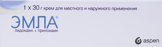 Эмла крем 0,05 30 г Recipharm Karlskoga