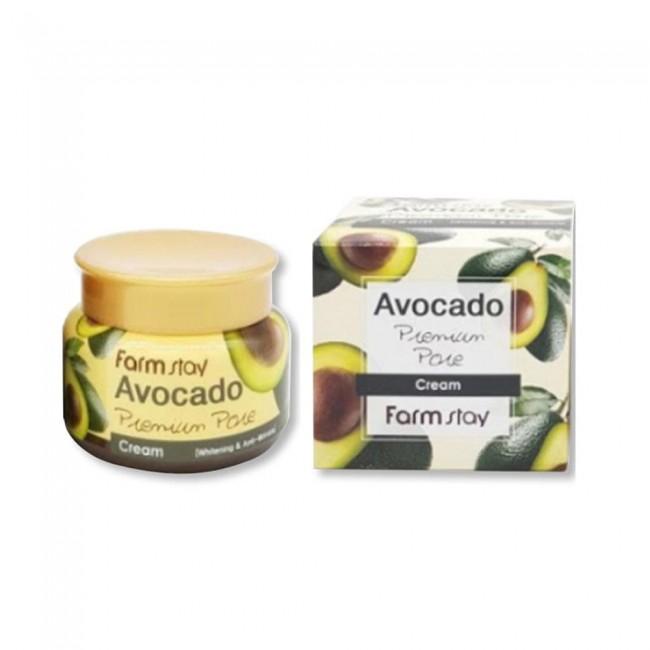 Крем для лица FarmStay отбеливающий с экстрактом авокадо 100 мл