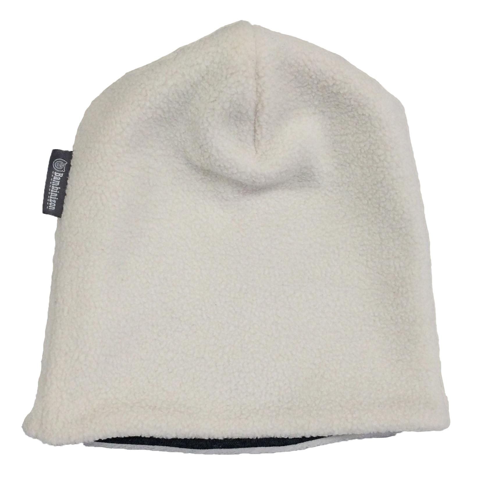 Купить Шапка детская Bambinizon из флиса Полярный мишка ШАФ-ПМ р.98, Детские шапки и шарфы