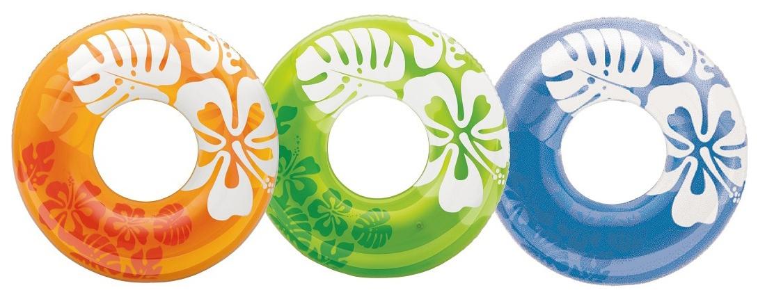 Круг для купания Intex Clear Color