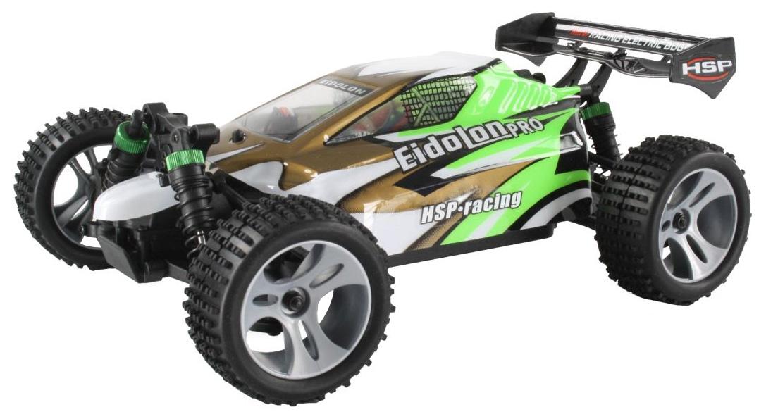 Купить Радиоуправляемая машинка HSP 4WD Brushless Buggy EidoLon-PRO Золотистый/Зеленый, Радиоуправляемые машинки