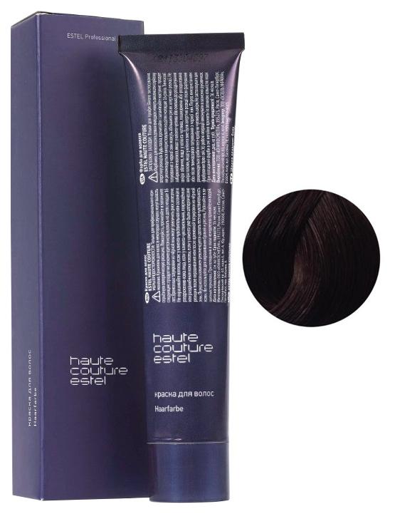 Краска для волос ESTEL HAUTE COUTURE тон 5/76 Светлый шатен коричнево-фиолетовый