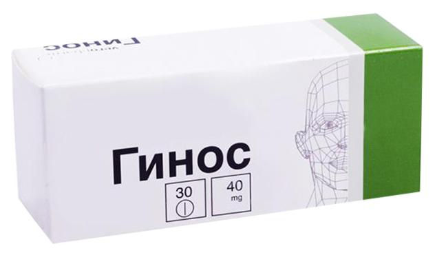 Гинос таблетки 40 мг 30 шт.