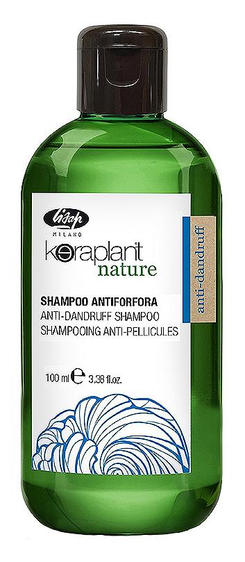 Шампунь lisap milano против выпадения волос с экстрактом женьшеня 100 мл