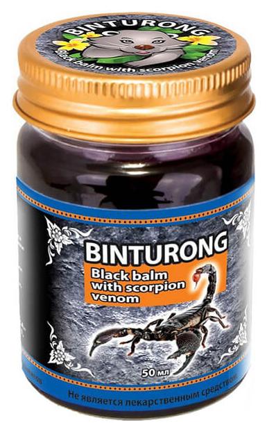 Средство для тела Binturong Black Balm with Scorpion Venom 50 мл