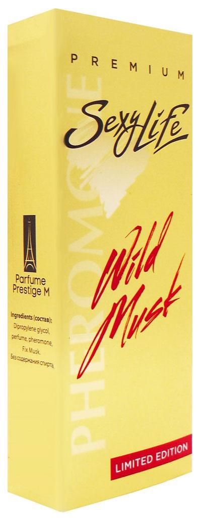 Женские духи с феромонами Парфюм престиж Wild Musk №11 с мускусом 10 мл фото