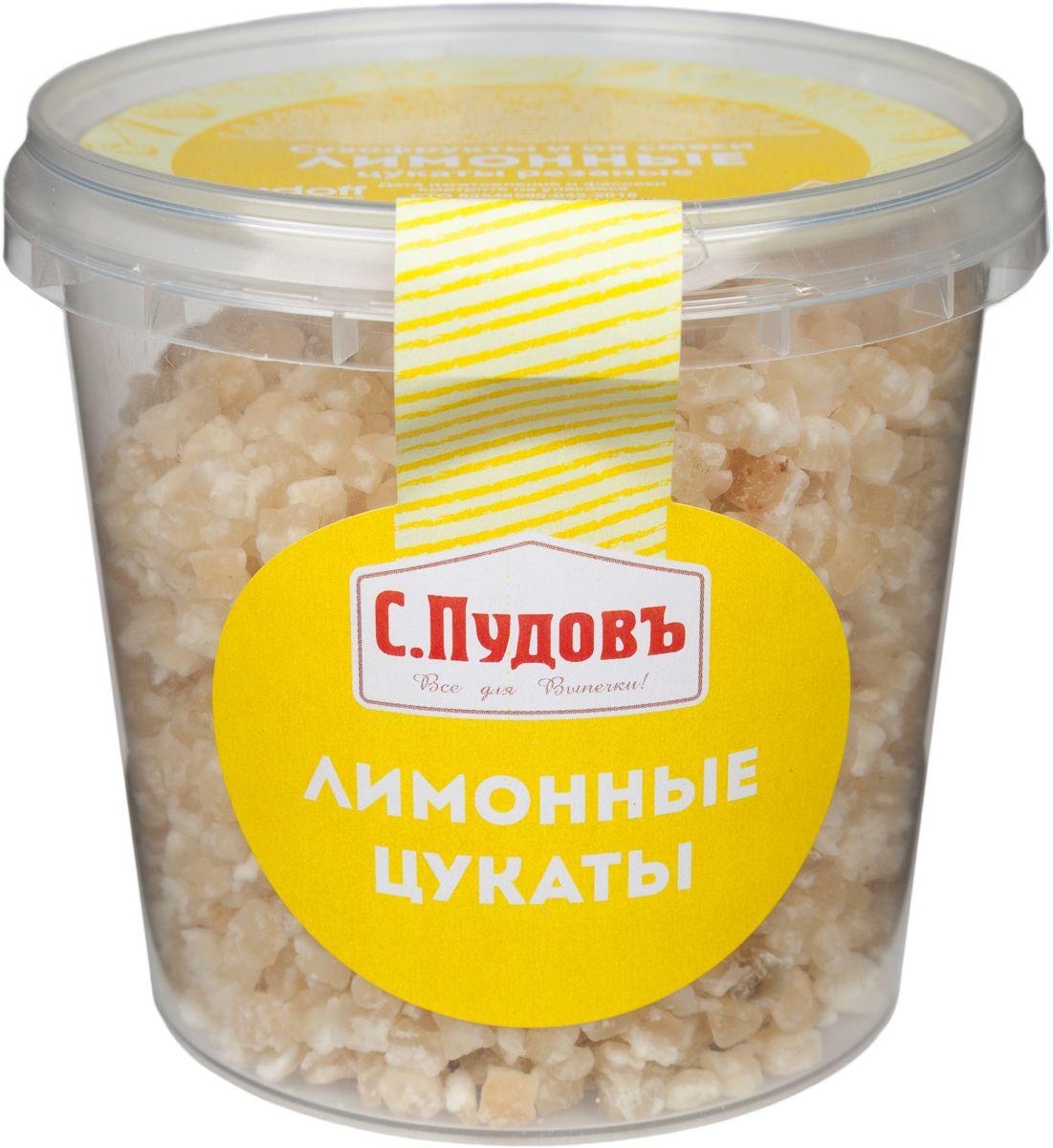 Лимонные цукаты С.Пудовъ 230 г фото