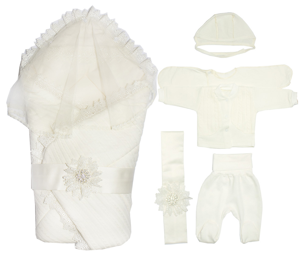 Комплект одежды для мальчиков Осьминожка К133/1 белый р.onesize
