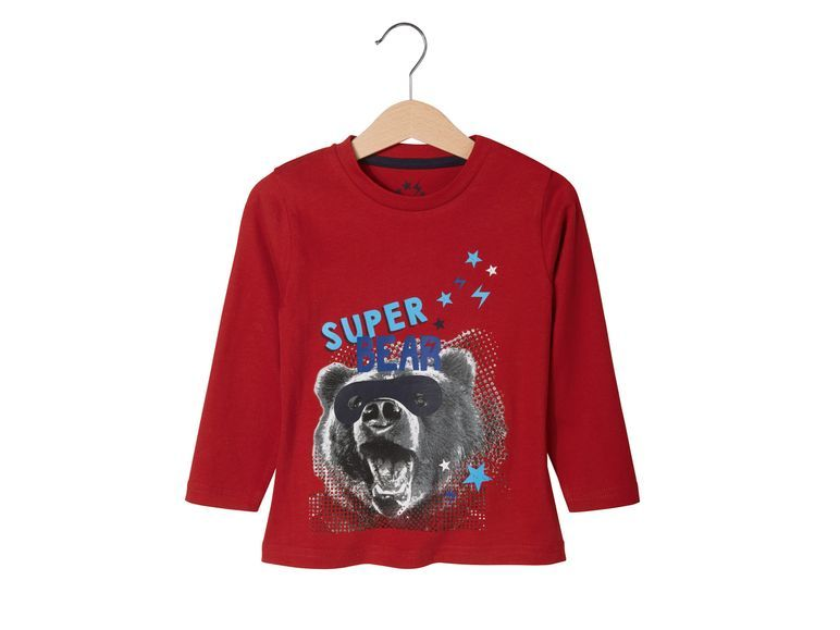 Купить Джемпер для мальчика Lupilu р.86-92 красный, Детские джемперы, кардиганы, свитшоты