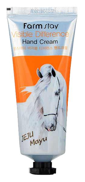Крем для рук FarmStay Visible Difference Hand Cream Jeju Mayu 100 мл фото