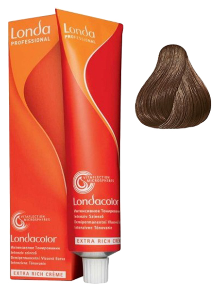 Крем-краска для волос Londa Ammonia Free 6/3 Темный Блонд Золотистый 60 мл