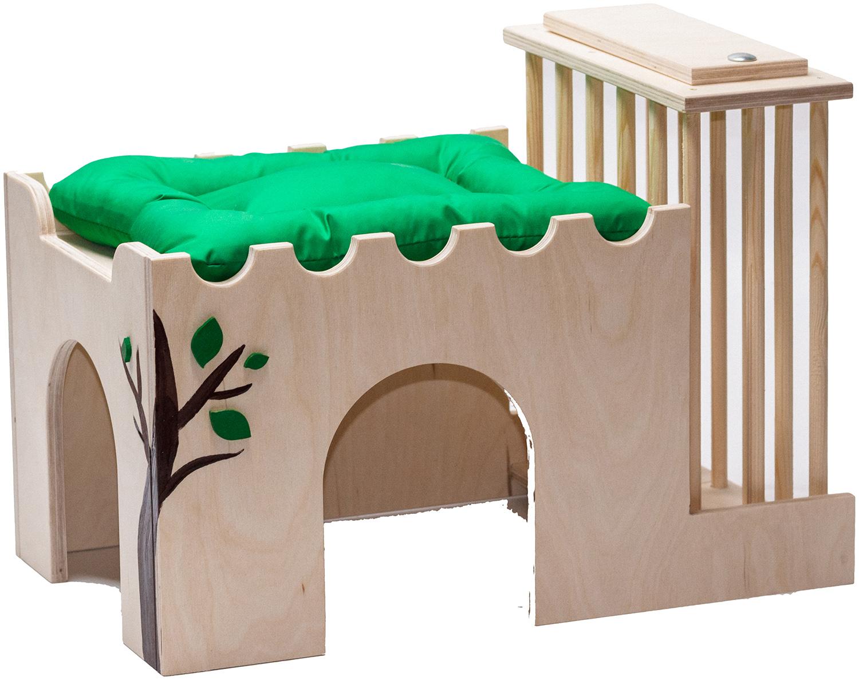 Игрушка для грызунов Doradowood Дом у дерева