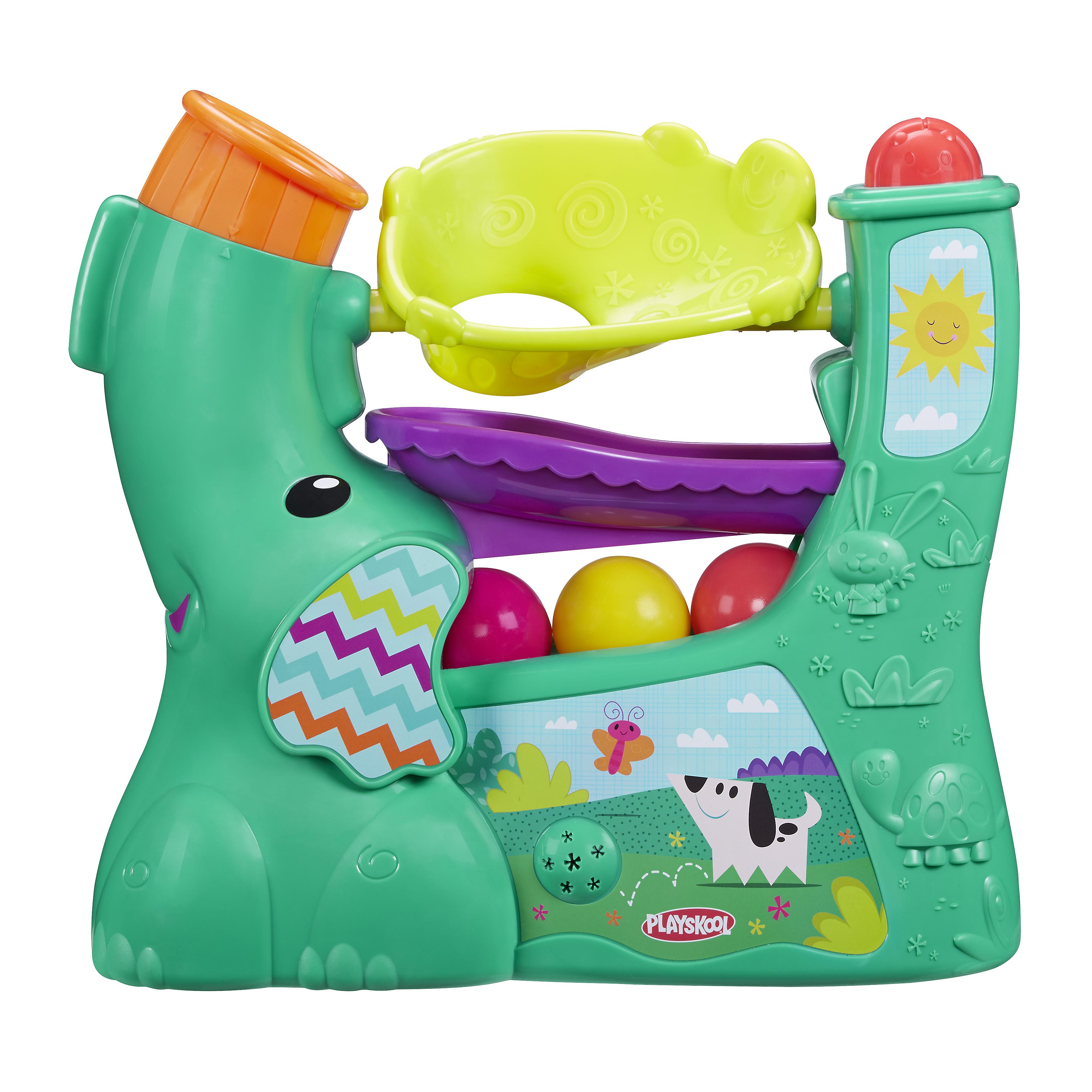 Купить Весёлый слоник, Интерактивная развивающая игрушка Playskool Новый веселый слоник, Развивающие игрушки