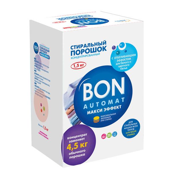 Порошок для стирки Bon макси эффект 1.5 кг BN-139