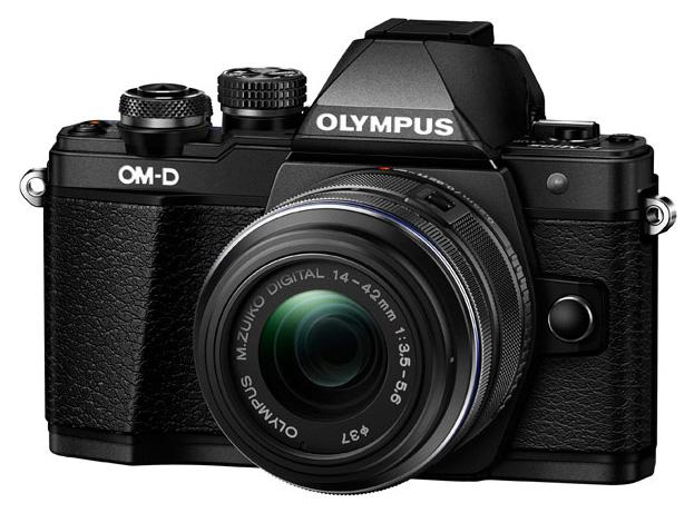 Фотоаппарат системный Olympus E-M10 Mark II Black + 14-42 II R Black фото