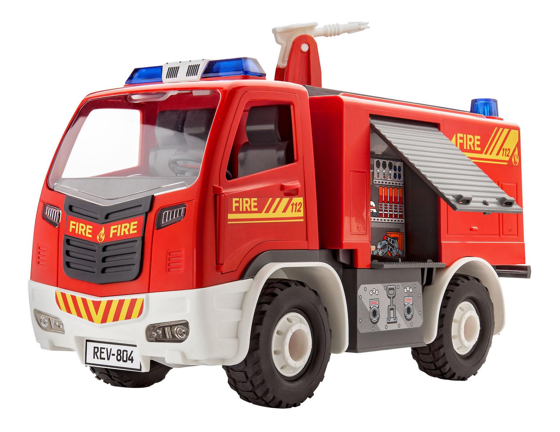 Купить Сборная модель для малышей пожарная машина , Revell, Модели для сборки