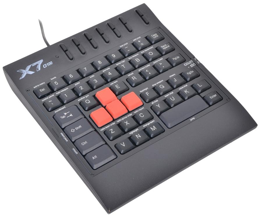 Игровой блок A4TECH X7-G100