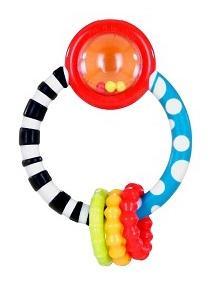 Купить Колечко, Развивающая Прорезыватель-игрушка – прорезыватель Bright Starts колечко,