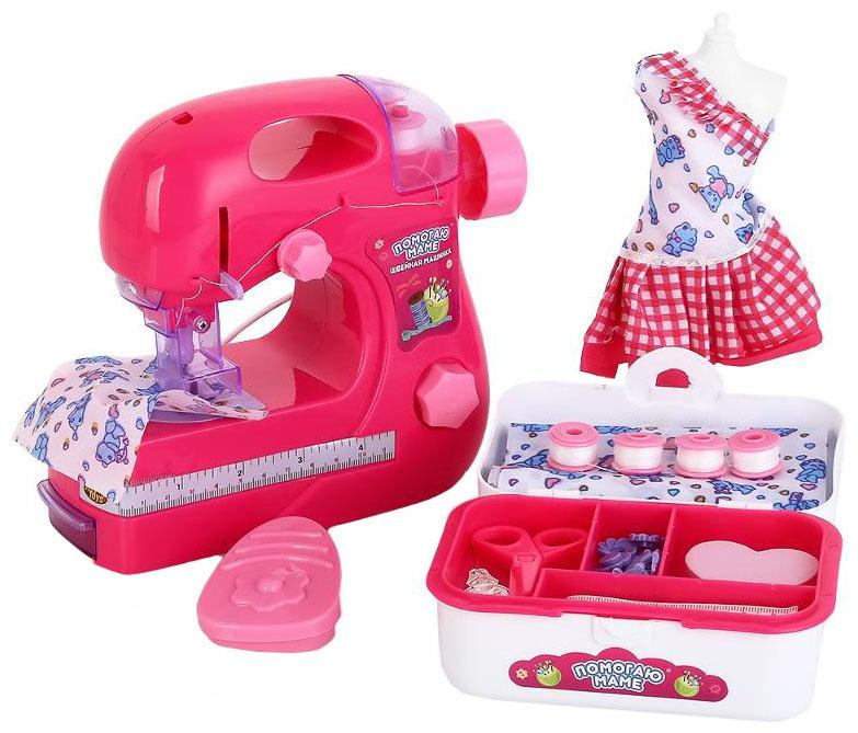 Швейная машинка игрушечная ABtoys Помогаю Маме