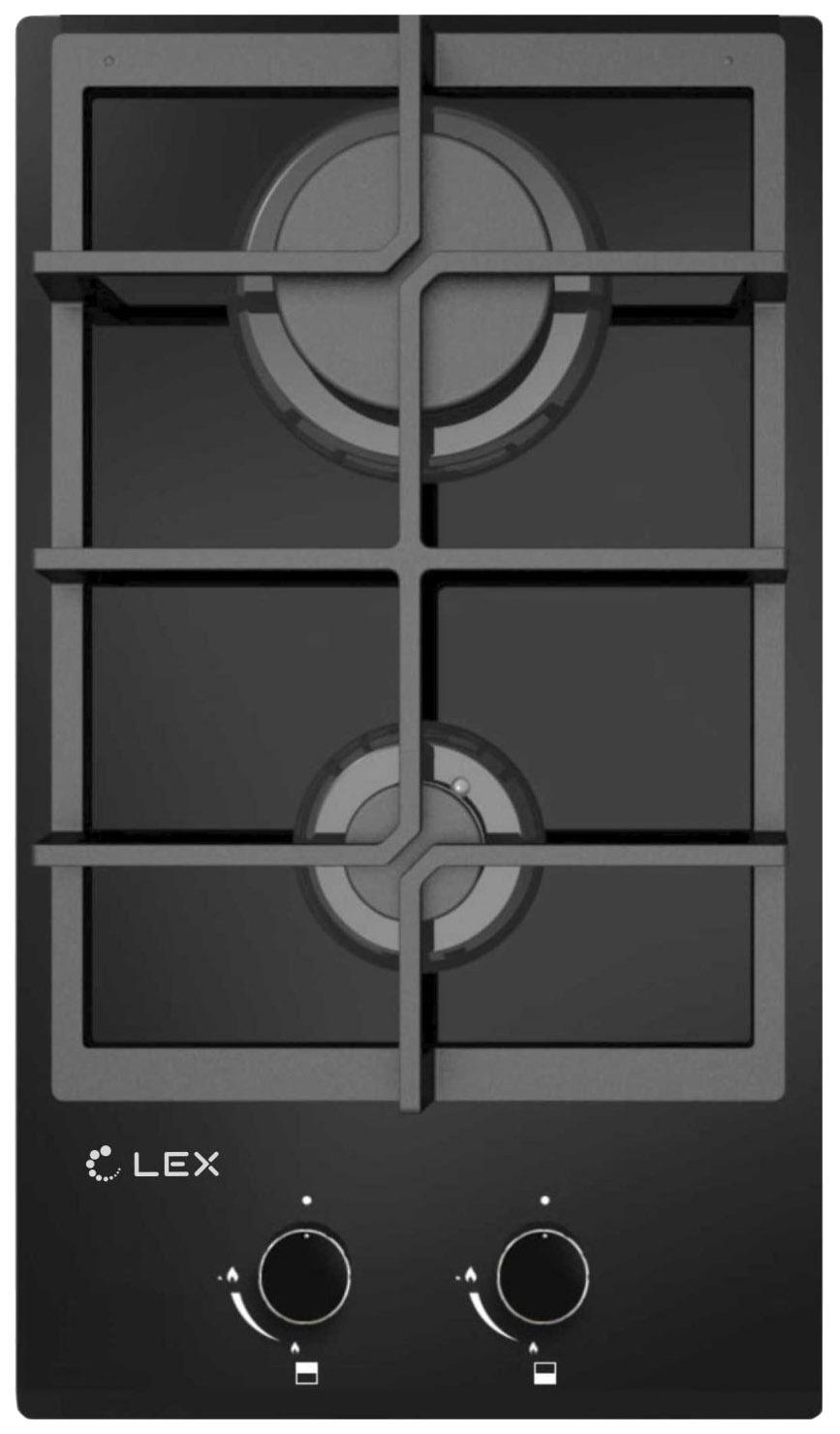 Встраиваемая варочная панель газовая LEX GVG 321 BL Black