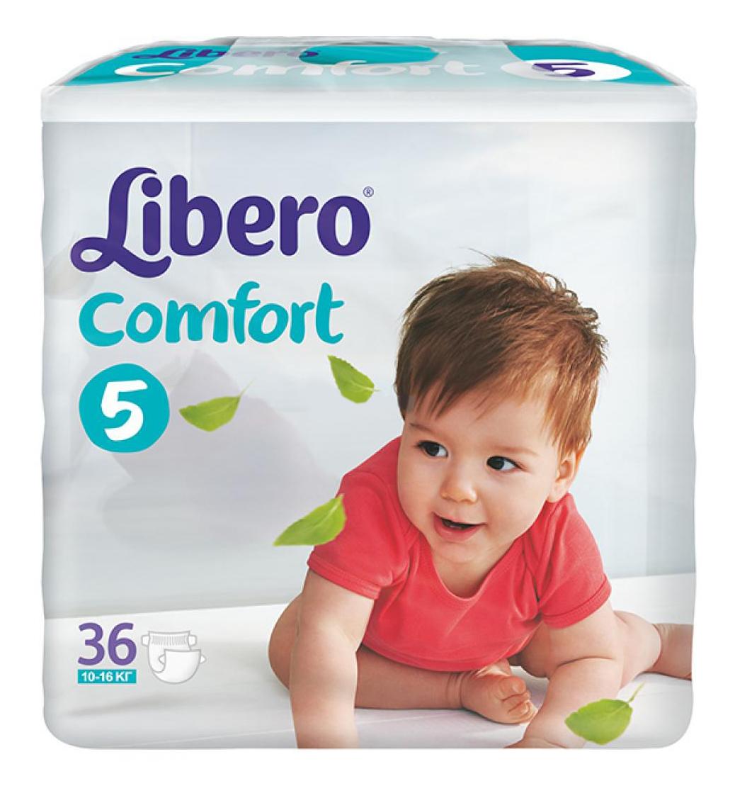 Подгузники Libero Comfort Fit Ecotech 5
