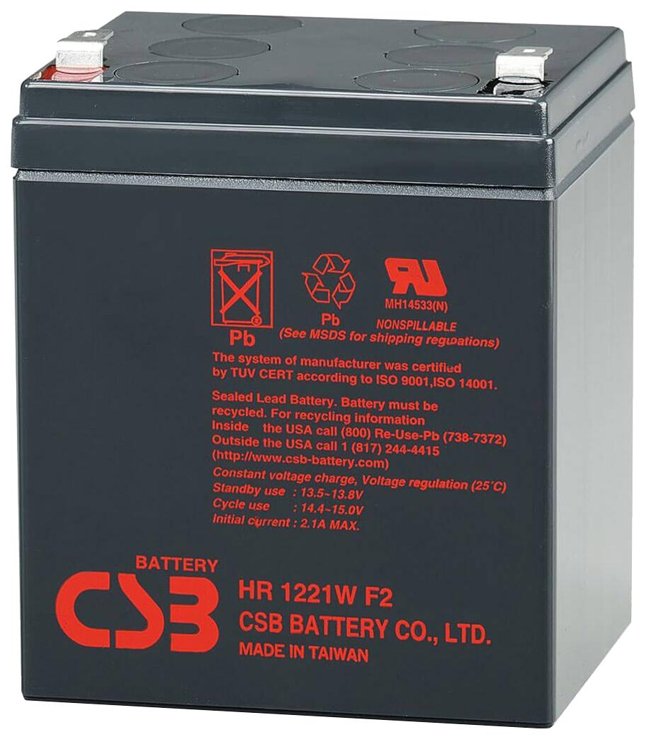 Аккумулятор для ИБП CSB HR 1221WF2 12V/5AH
