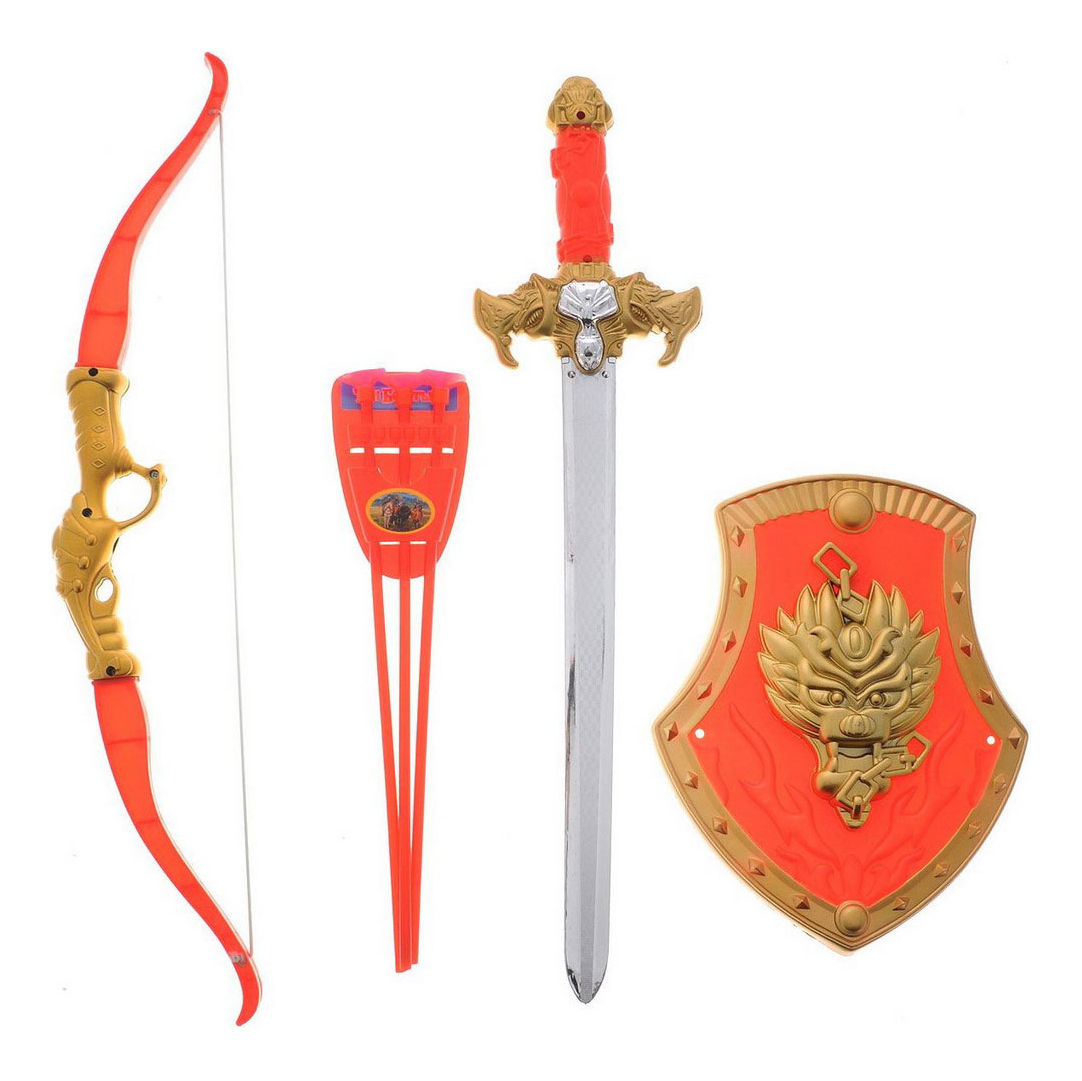 Купить Набор оружия Играем Вместе Три богатыря 583 B, Наборы игрушечного оружия