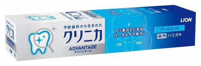 Зубная паста Lion Clinica Advantage Cool mint
