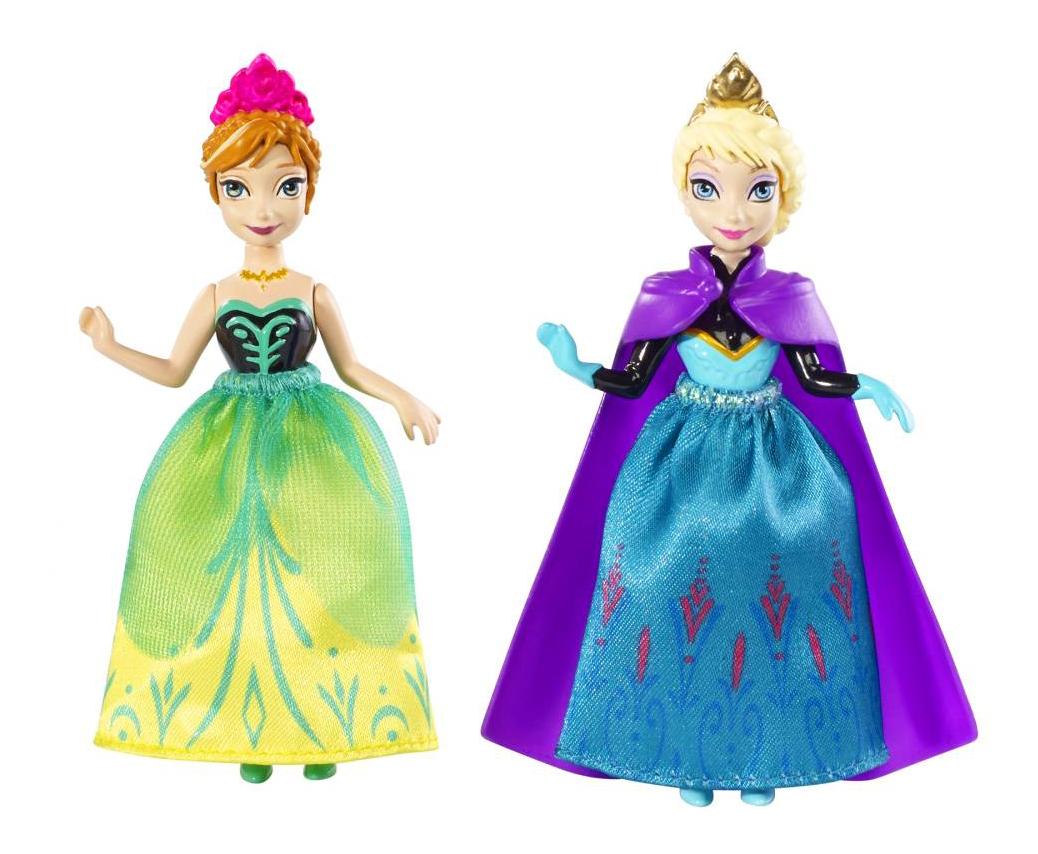 Купить Набор игровой Frozen Анна и Эльза 18см (DFR78пц), Disney, Игровые наборы