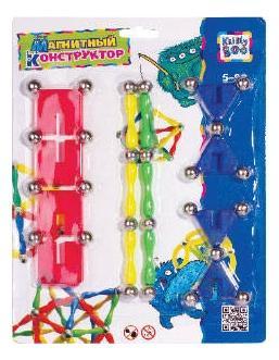 Купить Микс, Конструктор магнитный KriBly Boo Фигуры 1, Магнитные конструкторы