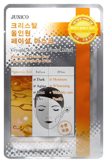 Купить Маска для лица Mijin Junico Crystal All-in-one Facial Hyaluronic 25 г