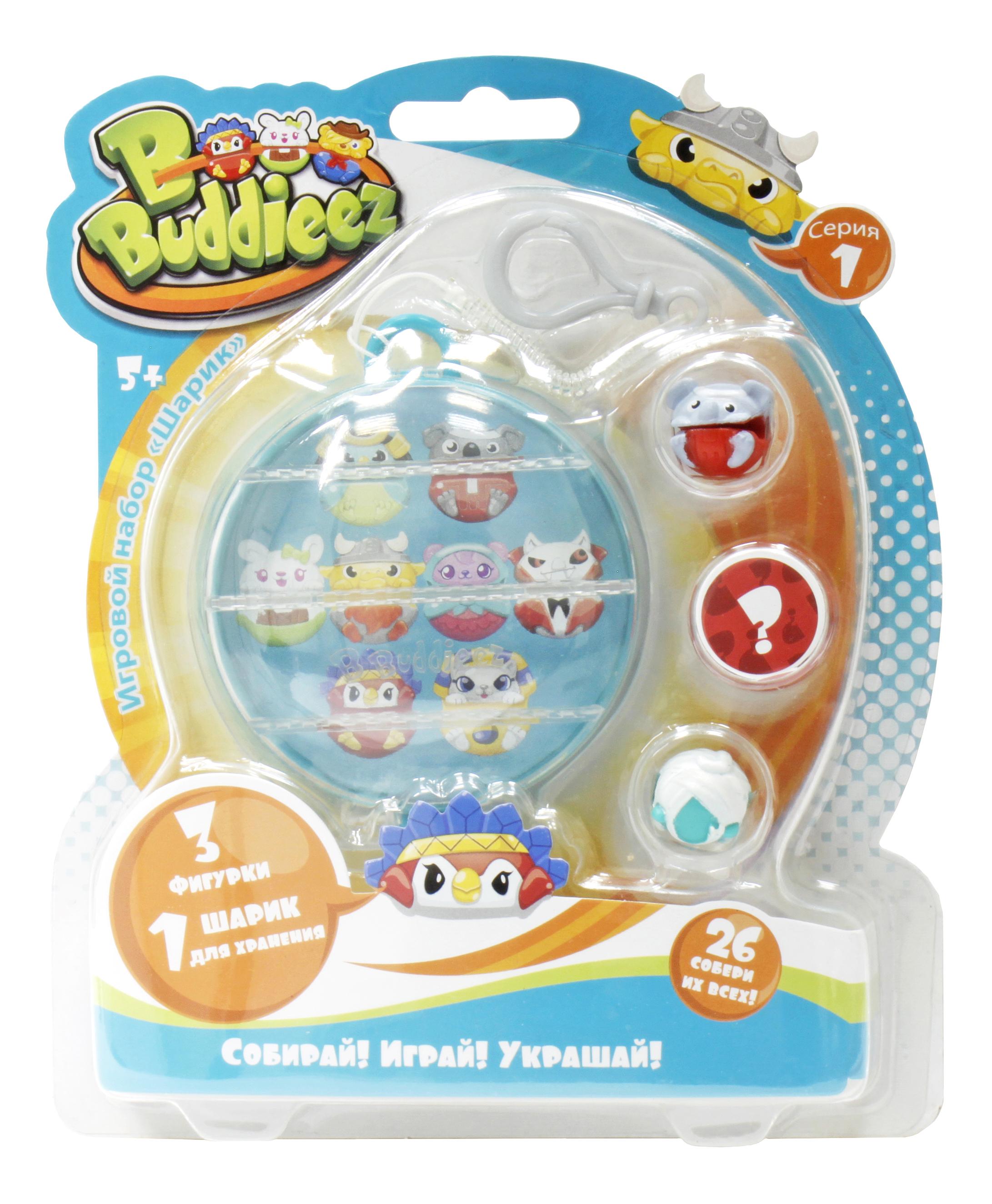 Купить Игровой набор 1TOY Bbuddieez 3 шарма-персонажа, 1 TOY, Игровые наборы