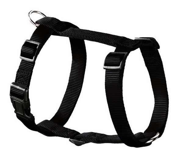 Шлейка для собак Hunter Smart Ecco Sport L (54-87/59-100 см) нейлон черная