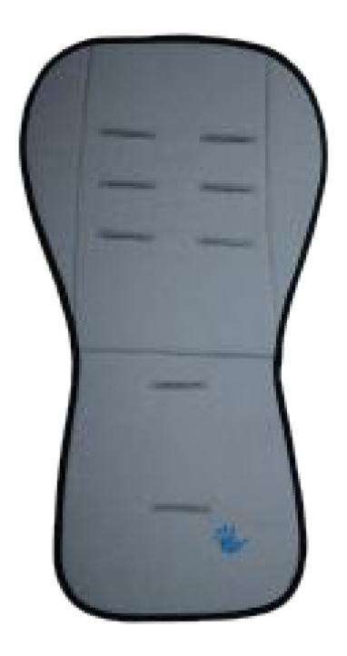 Купить Матрасик в коляску Altabebe Lifeline Polyester Dark Grey, Аксессуары для детских колясок