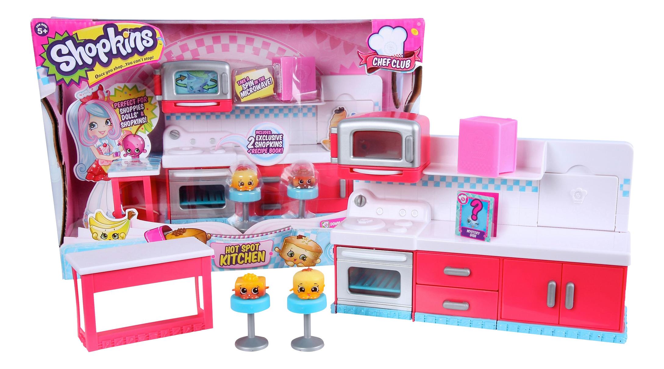 Детская кухня Moose Shopkins Веселая 6 сезон