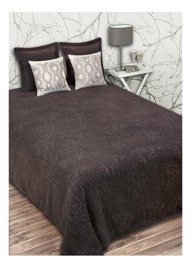 Покрывало Luxberry Velvet 150 х 210 см темный шоколад