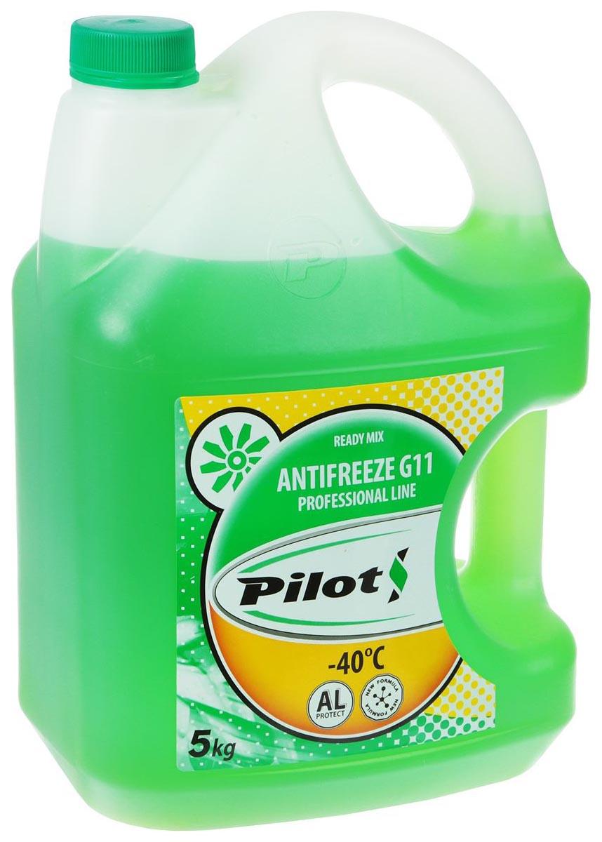 Антифриз PILOTS зеленый готовый антифриз -40 5л 3204 фото