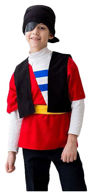 Карнавальный костюм Бока Пират, цв. разноцветный р.122
