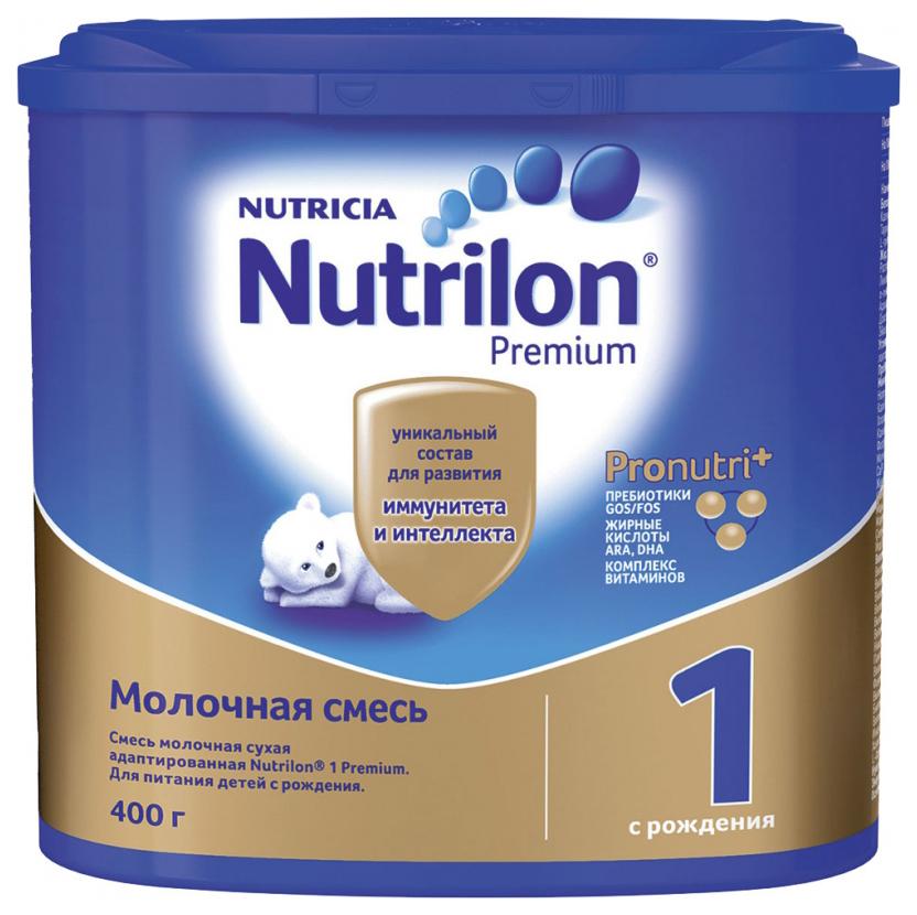 Молочная смесь 1 (от 0 до 6 мес.) Nutrilon Premium 400 г