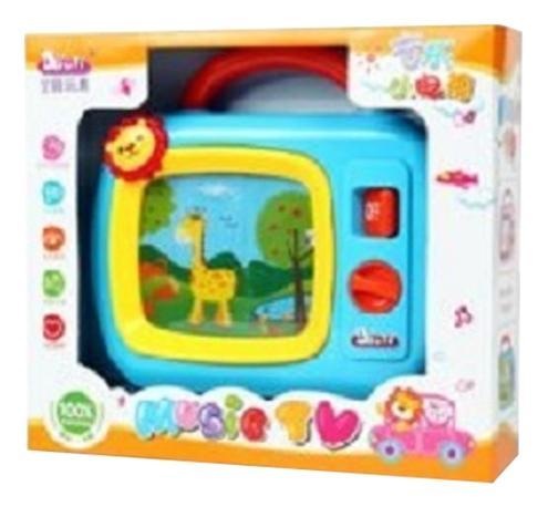 Купить Интерактивная игрушка Музыкальный телевизор Shantou Gepai, Интерактивные развивающие игрушки