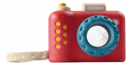 Купить Деревянная игрушка для малышей PlanToys Моя первая камера, Развивающие игрушки