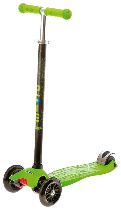 Самокат трехколесный Micro Maxi T Green (MM0049)
