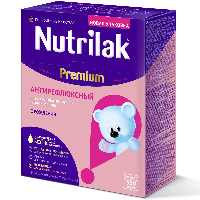 Молочная смесь Nutrilak Premium Антирефлюксный от