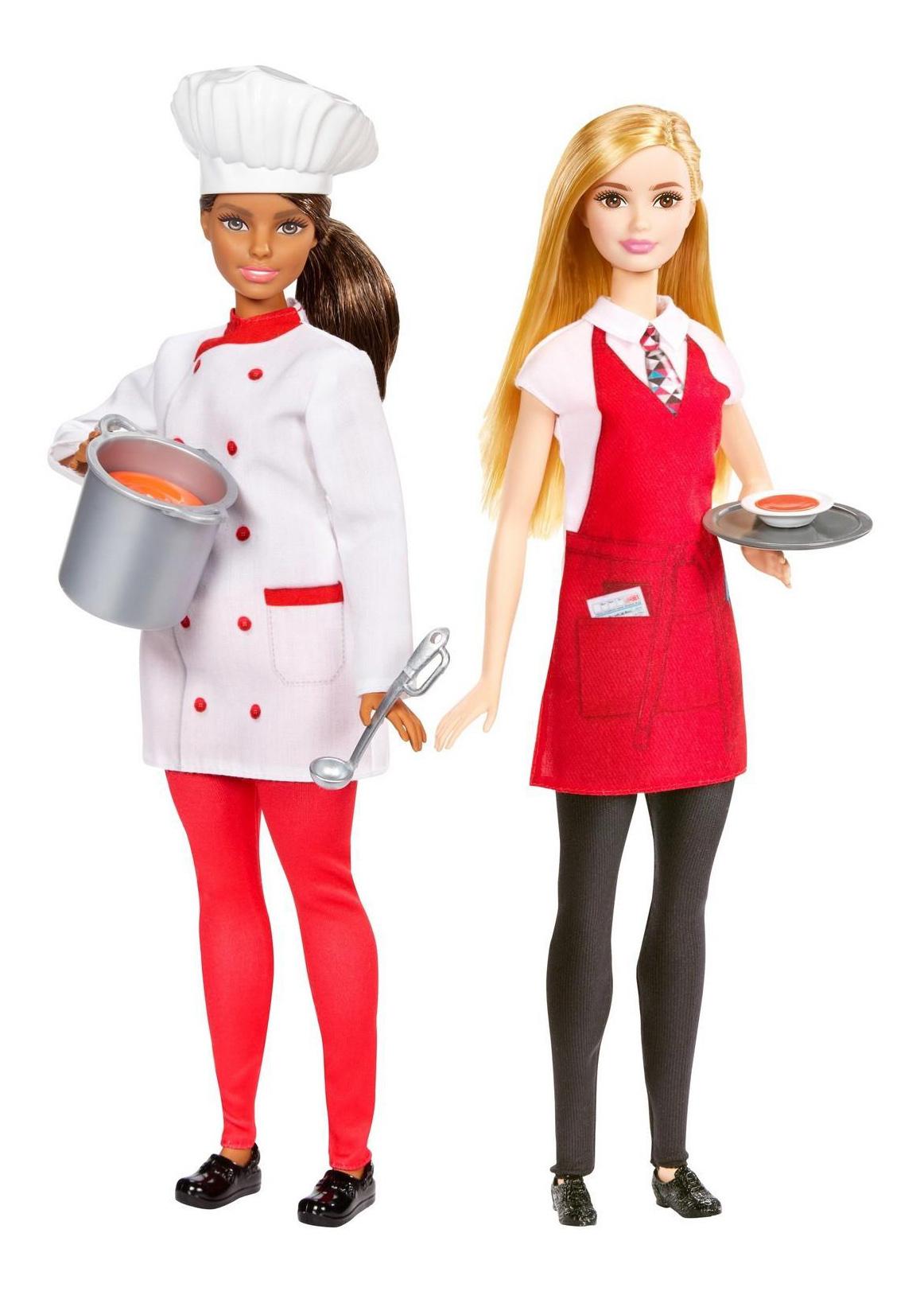 Кукла Barbie Повар и официантка фото