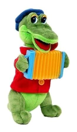 Купить Крокодил Гена, Мягкая игрушка Мульти-Пульти Крокодил гена v40652/21ms26,